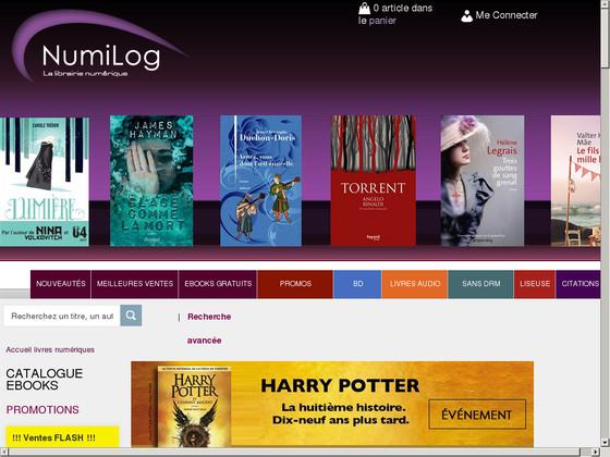 livre électronique en ligne