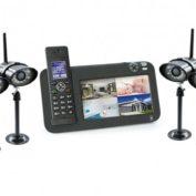 Kit videosurveillance sans fil pour protéger votre habitation